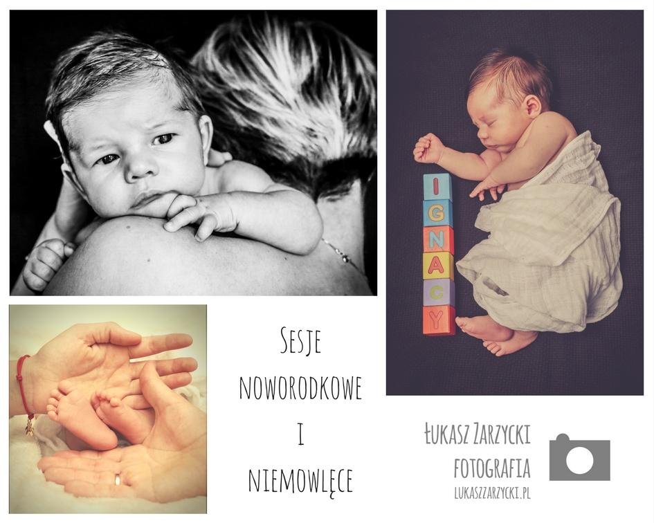 Sesje noworodkowe i niemowlęce Kielce Świętokrzyskie - Sesja zdjęciowa Ignacego. Fot. Lukasz Zarzycki / lukaszzarzycki.pl