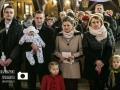 Ostrowiec Swietokrzyski, 29.01.2017 r. Chrzest Swiety Aleksandry. Fot. Lukasz Zarzycki / lukaszzarzycki.pl