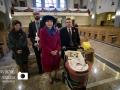 Kielce, 11.11.2015 r. Chrzest Swiety Anny Barbary. Fot. Lukasz Zarzycki / lukaszzarzycki.pl