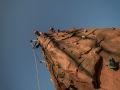 Kielce, 21.09.2009 r. Mobilna Scianka Wspinaczkowa Gravito Events. Fot. Lukasz Zarzycki / lukaszzarzycki.pl
